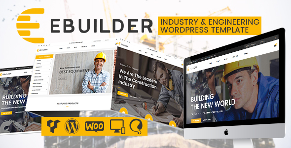 VG eBuilder – Construction and Builder WordPress Theme