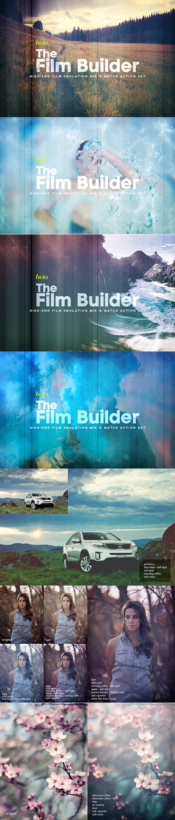 The Film Builder - Photo Effects Actions