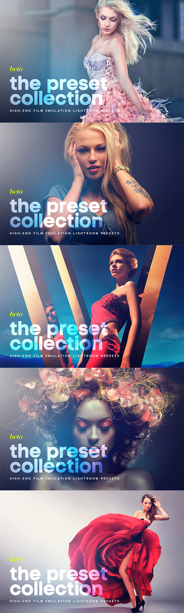 The Preset Collection - Lightroom Presets Add-ons