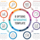 Eight Options Infographics - GraphicRiver Item for Sale