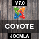 Coyote - Responsive Business Joomla Template Nulled