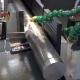 Modern Machine Saw. Cutting Metal Modern Processing Technology.