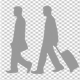 Woman Walk With Baby Cart - 23