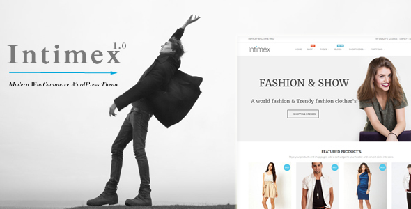 Intimex – Modern WooCommerce WordPress Theme