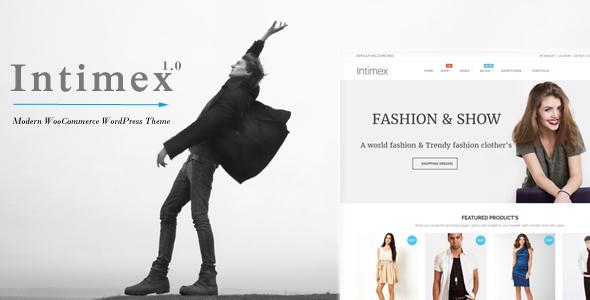 Intimex – Modern WooCommerce WordPress Theme
