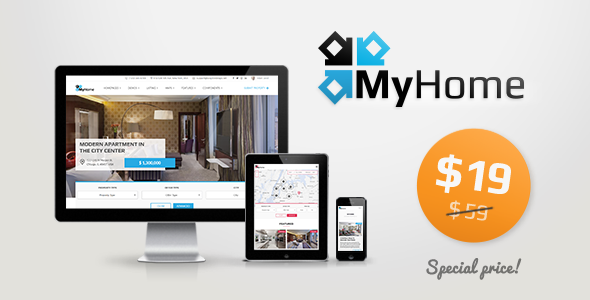 MyHome – Real Estate WordPress Theme