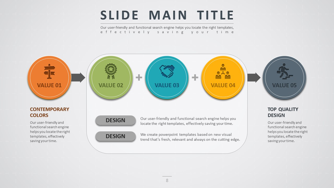 Road powerpoint template by pello1103 graphicriver road powerpoint template connect diagram wide toneelgroepblik Image collections