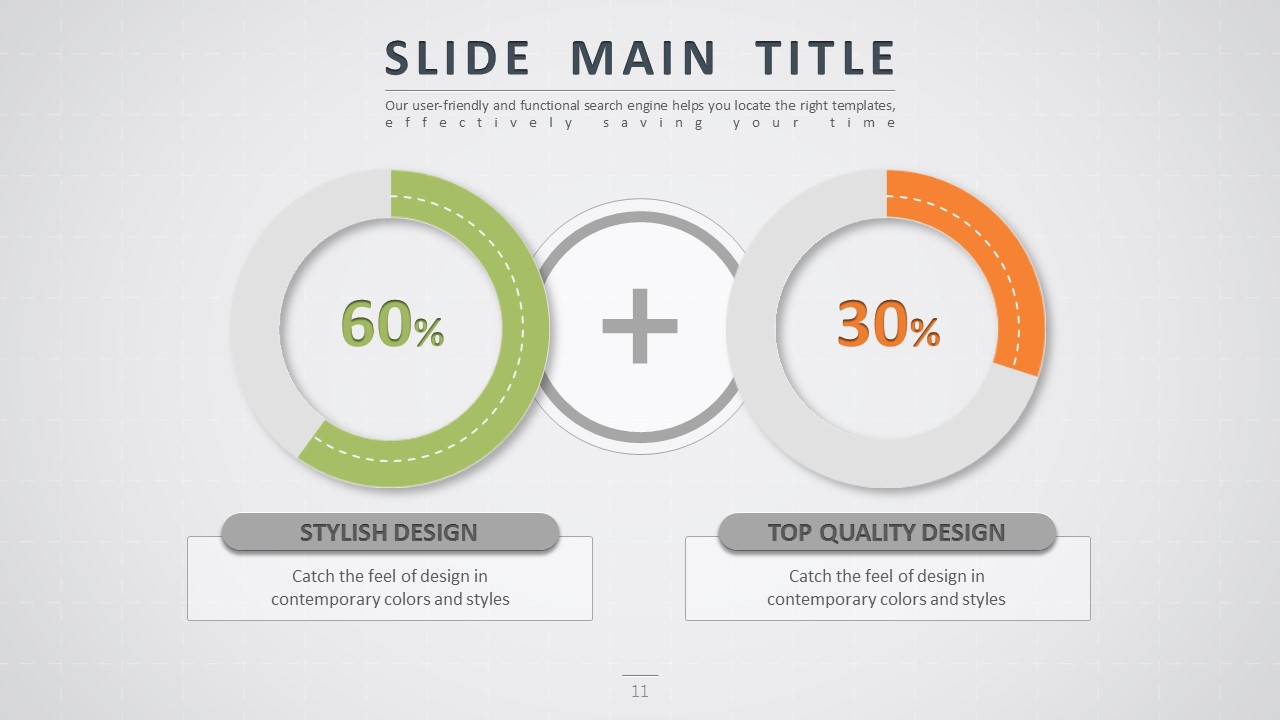 Road powerpoint template by pello1103 graphicriver road powerpoint template doughnut chart wide ccuart Image collections