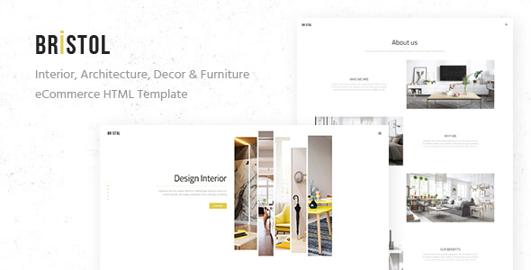 Bristol – Interior / Architecture / Decor & Furniture eCommerce HTML Template