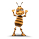 Ms. Bee Dance 3 - VideoHive Item for Sale