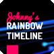 Rainbow Corporate Timeline Evolution - VideoHive Item for Sale