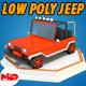 Low Poly Jeep