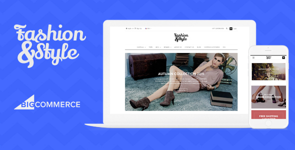 AP Fashion Store - Responsive Bigcommerce Theme Template