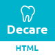 Decare - Dental Clinic HTML Template - ThemeForest Item for Sale