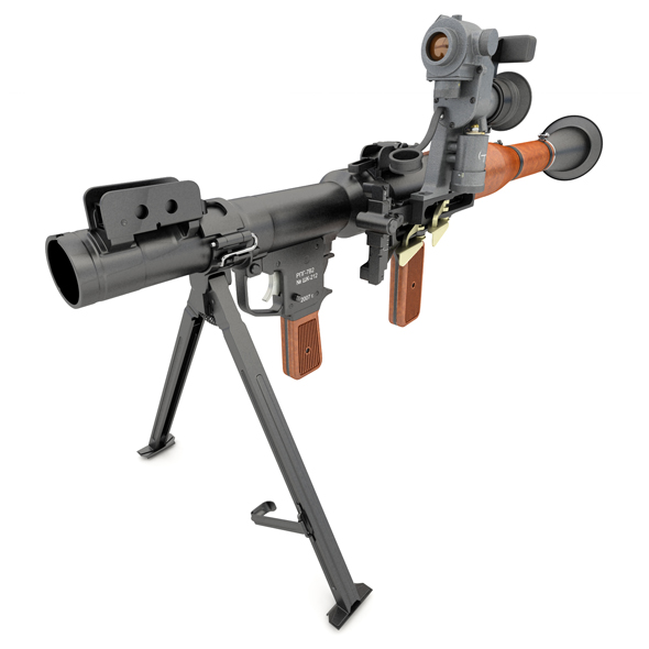 RPG-7 V2 grenade launcher - 3DOcean Item for Sale