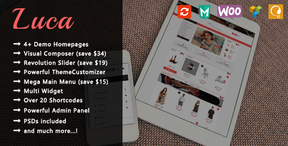 Luca – Responsive WooCommerce WordPress Theme