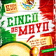 Cinco de Mayo Party Poster vol.4 - GraphicRiver Item for Sale