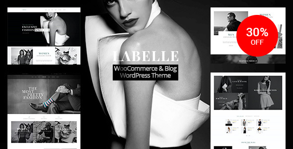 Labelle – Responsive WooCommerce & Blog WordPress Theme