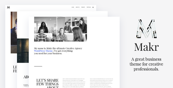 Makr – Multi Purpose Business WordPress Theme