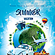 Summer Vacation Travel Flyer - GraphicRiver Item for Sale