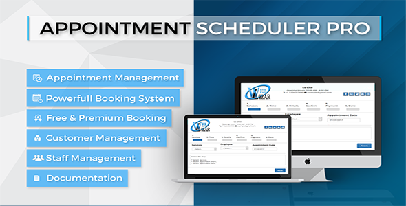 Appointment Schedular WordPress Plugin - CodeCanyon Item for Sale
