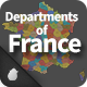 Departments of France - GraphicRiver Item for Sale