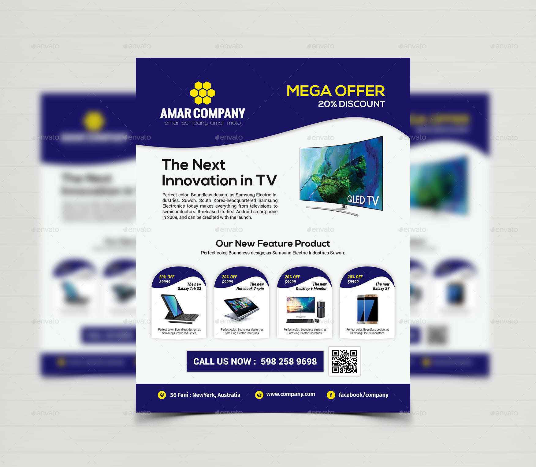 Product Flyer Templates By Creative Touch Graphicriver