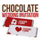 Chocolate Wedding Invitation  - GraphicRiver Item for Sale