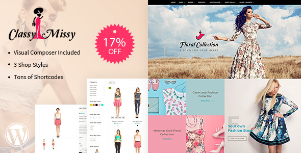 Fashion Woocommerce - Responsive Woocommerce Theme - Shopping Retail