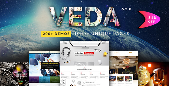 VEDA | Multi-Purpose Theme - Miscellaneous WordPress