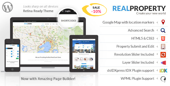 Real Property - Responsive Real Estate WP Theme - Real Estate WordPress