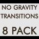 No Gravity Transitions - 8 Pack - VideoHive Item for Sale