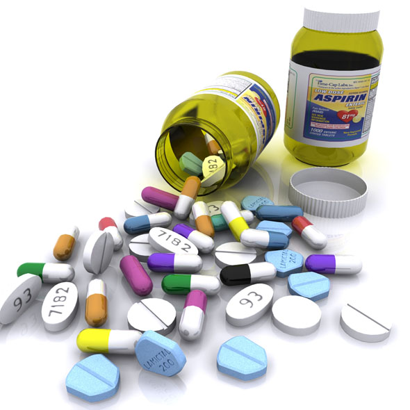 Medicine Bottle - 3DOcean Item for Sale