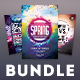 Spring Flyer Bundle Vol.03 - GraphicRiver Item for Sale