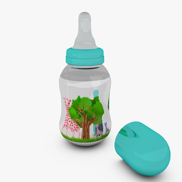 Baby Bottle - 3DOcean Item for Sale