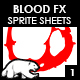 Blood Sprite FX for Games #1 - GraphicRiver Item for Sale