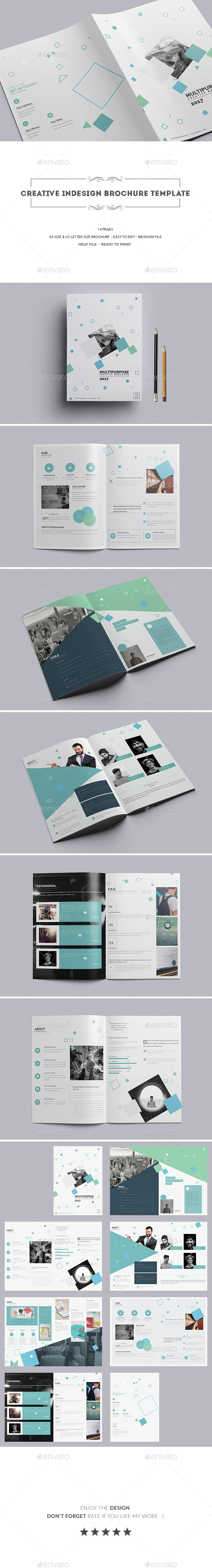Creative Indesign Brochure Template - Corporate Brochures