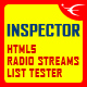 Inspector - HTML5 Radio Streams List Tester - CodeCanyon Item for Sale