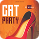 Cat Club Flyer - GraphicRiver Item for Sale