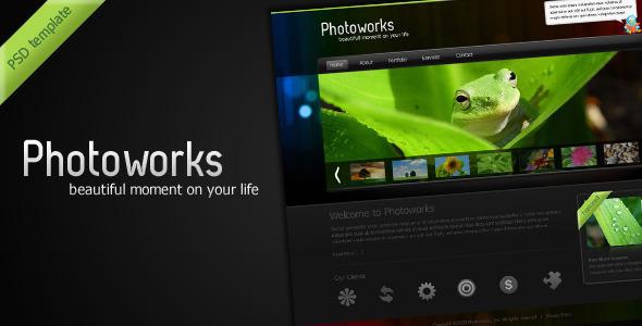Photoworks – Photography & Portfolio PSD Template