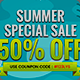 Summer Sale Banners Ad