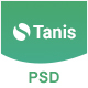 Tanis App PSD Template - ThemeForest Item for Sale