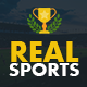 Real Sports Club: All In One Sports Template Nulled
