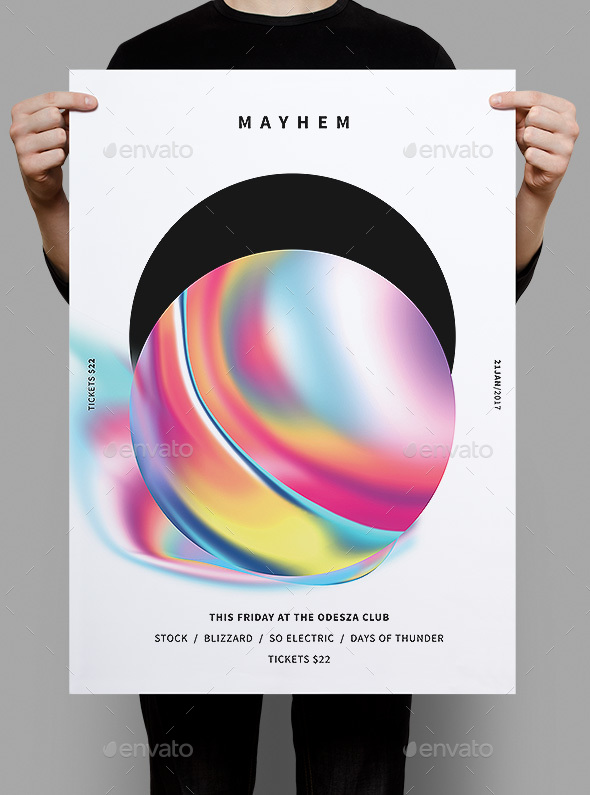 Flyer Templates - Graphicriver Mayhem Flyer Template