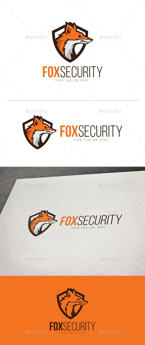 Fox Security Logo - Animals Logo Templates