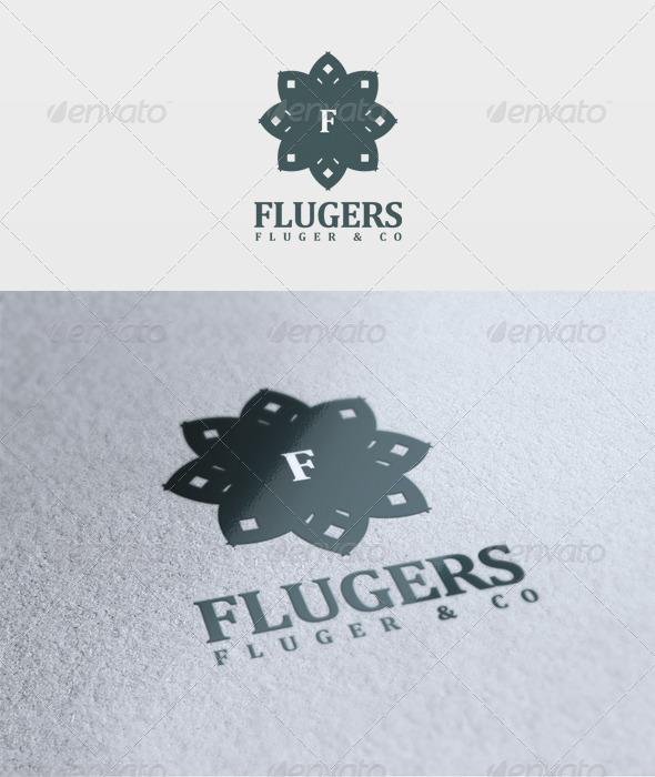 Flugers Logo - Letters Logo Templates