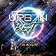 Urban Beat CD Cover Template - GraphicRiver Item for Sale