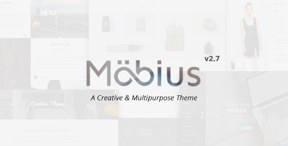 Mobius - Responsive Multi-Purpose WordPress Theme - Creative WordPress