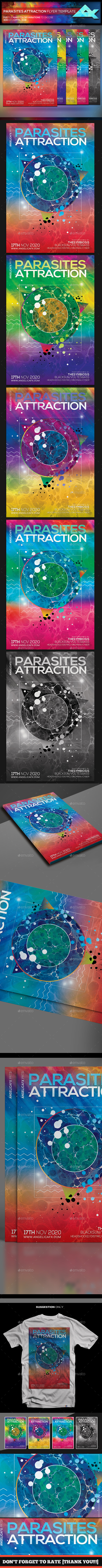 Parasites Attraction Flyer Template - Events Flyers