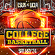 College Basketball Sports Flyer - GraphicRiver Item for Sale